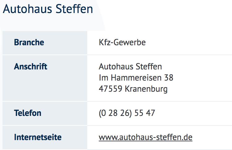 Autohaus Steffen