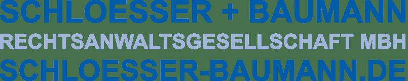 Schlösser + Baumann Rechtsanwaltsgesellschaft