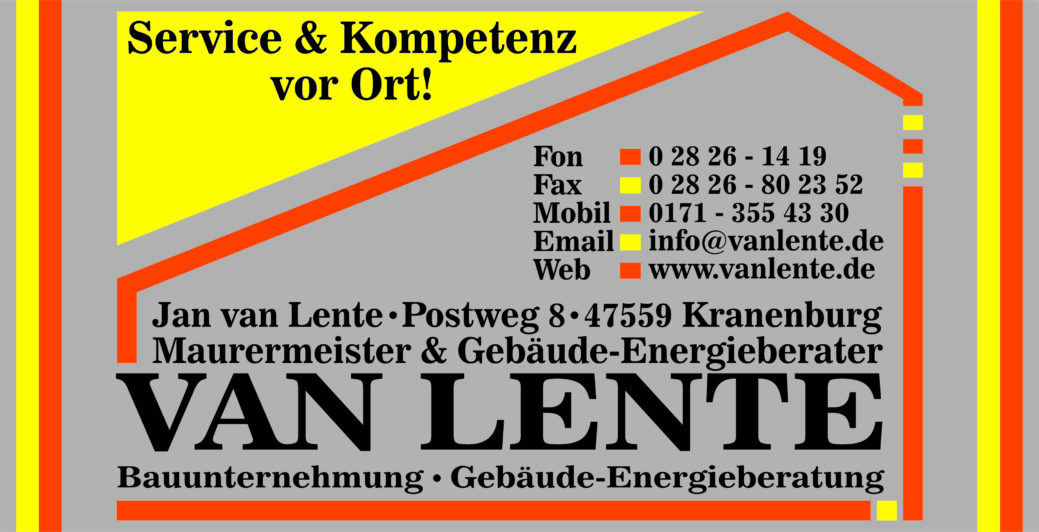 Bauunternehmung Jan van Lente
